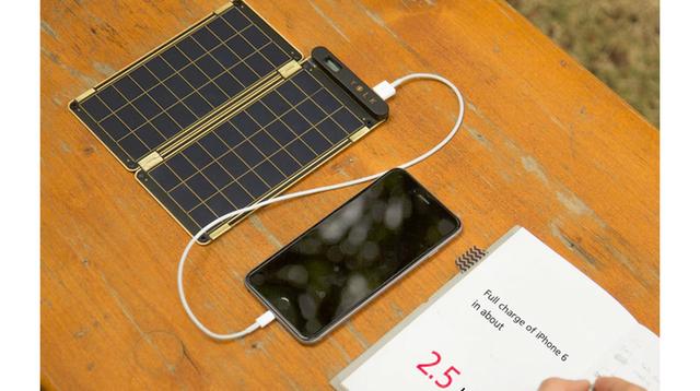ギズモード限定で10%OFF! 持ち運べるソーラー式充電器「Solar Paper」