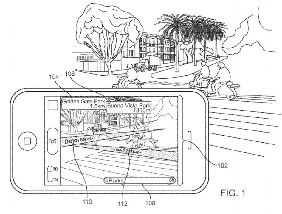 Appleがマップアプリ向けARで特許取得。車でも使えたらさらに便利そう