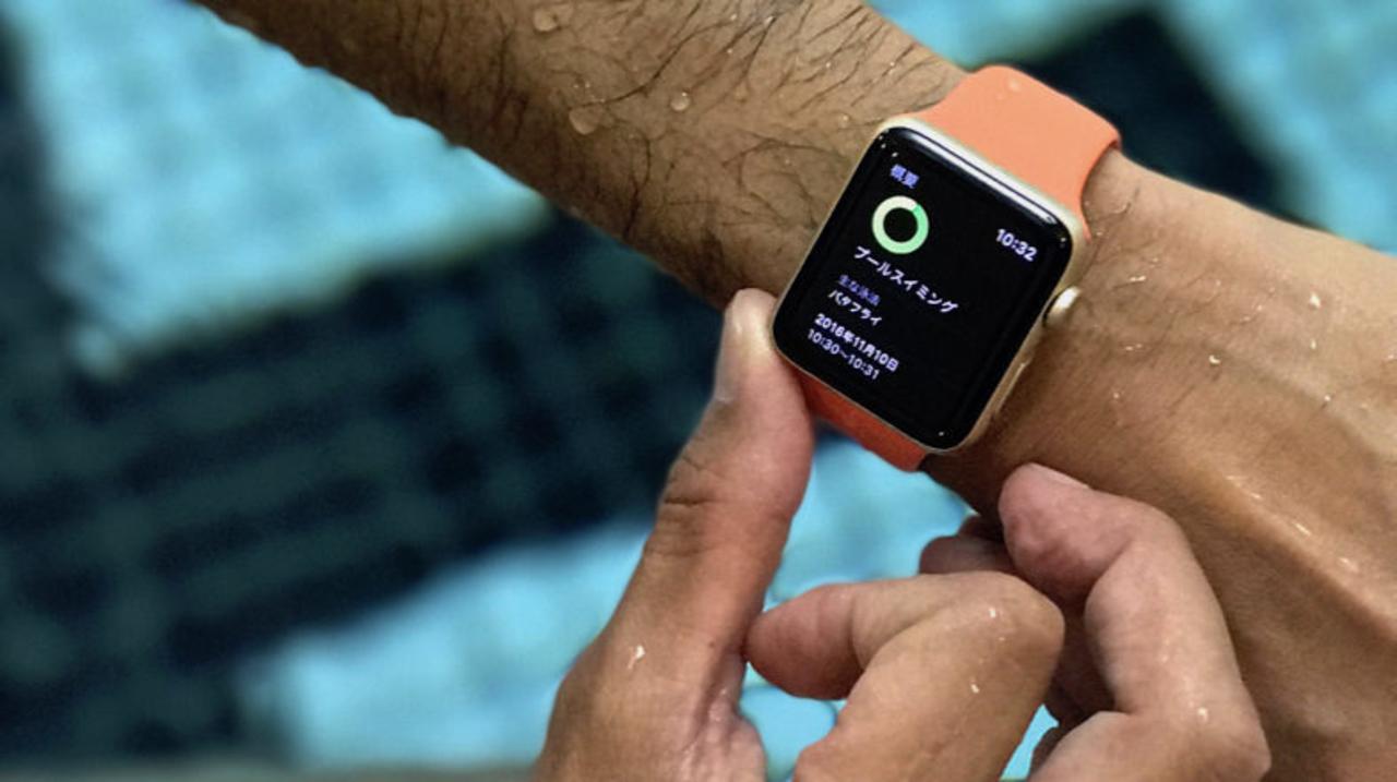 Apple Watch Series 2の新ワークアウト「プールスイミング」をスイマーに試してもらった