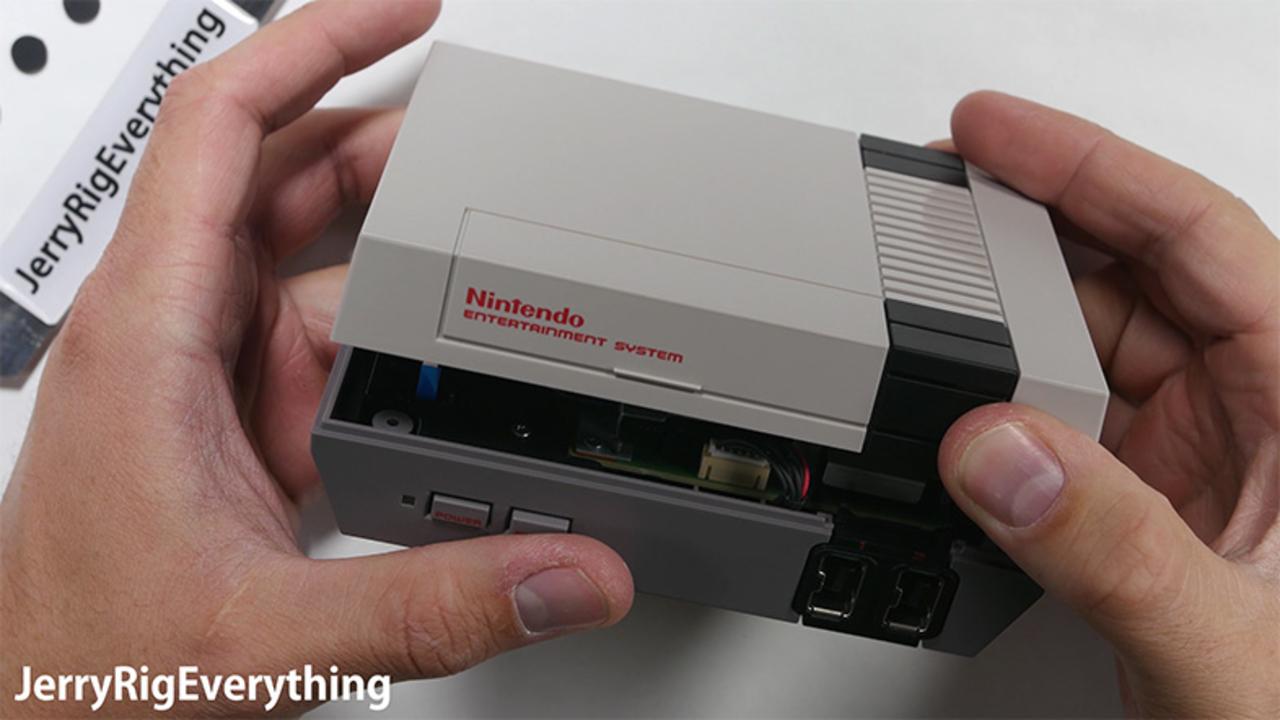 復刻版ファミコン「NES Classic Edition」今度は分解動画が公開される
