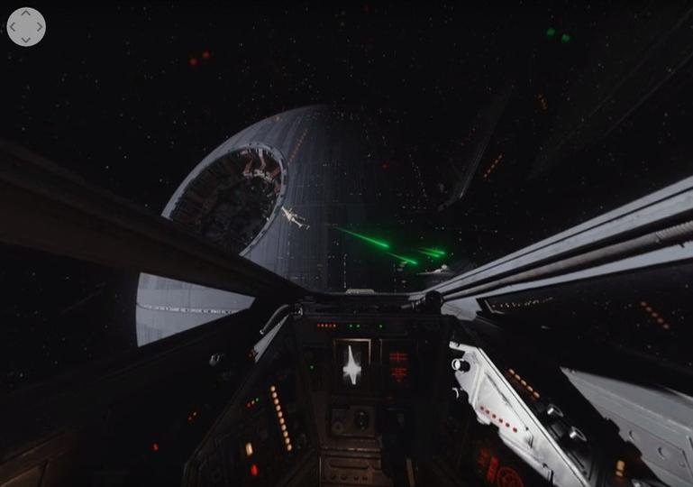 Xウイングのコックピットに乗れる『ローグ・ワン/スター・ウォーズ・ストーリー』の360度動画が登場