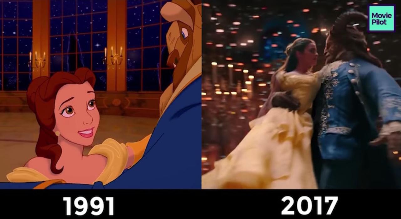 かなり忠実 実写映画版 美女と野獣 をアニメ版と並べて比較