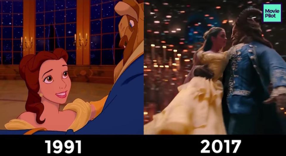 かなり忠実! 実写映画版『美女と野獣』をアニメ版と並べて比較