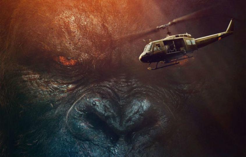 敵はゴジラだけじゃない! 映画『キングコング:髑髏島の巨神』予告編第2弾が公開