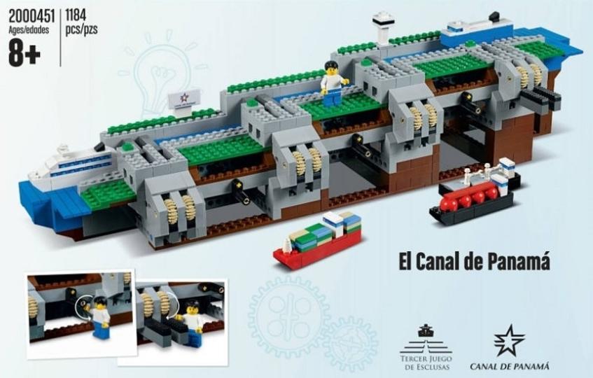 上下する水位も完全再現。パナマ運河をモデルにしたレゴが限定発売へ