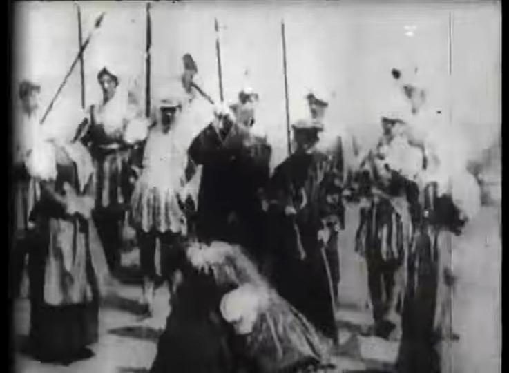 世界初の殺人シーンは1895年に編集技術を用いて作られた