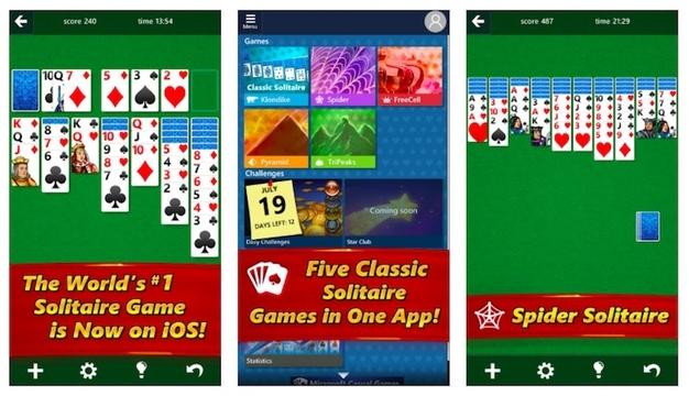 最強の時間泥棒。Microsoft公式の「ソリティア」アプリがスマホ向けに登場