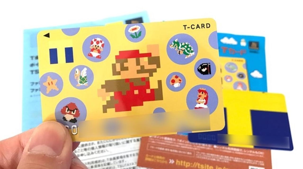 今すぐTSUTAYAへBダッシュ。初代スーパーマリオのTポイントカードが登場