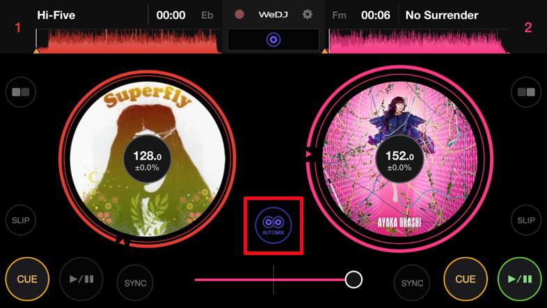 手軽にiPhoneでDJが楽しめる「WeDJ for iPhone」が今なら無料!7