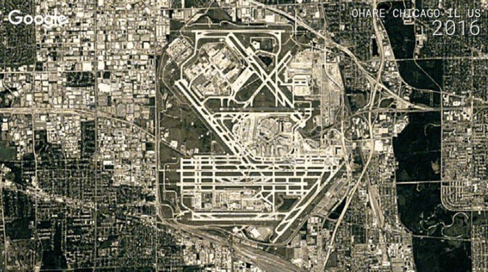 Google Earthのタイムラプスでよくわかる、過去30年の街の発展と自然破壊