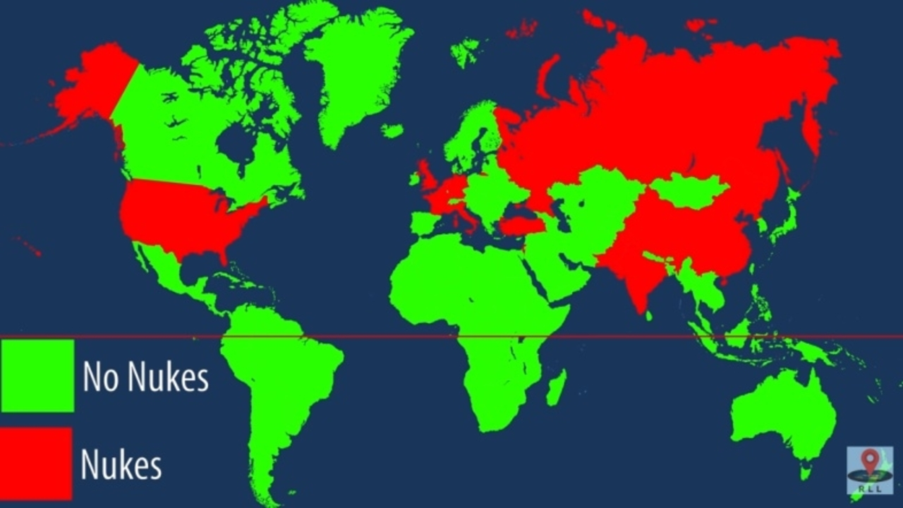 核兵器を保有している国々では、市民はどれほど核施設と近い場所に住んでいるのか?