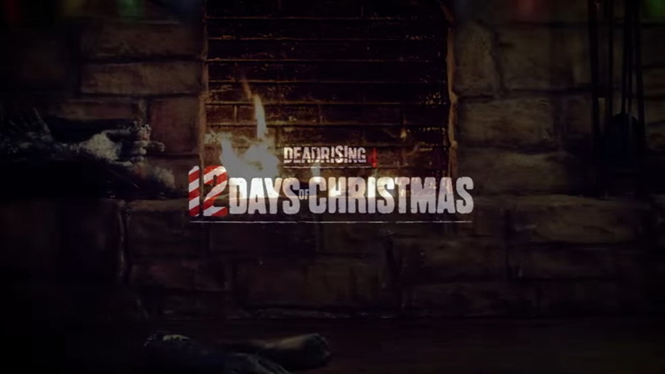 『デッドライジング4』流のクリスマスの過ごし方。暖炉にくべるのは……?