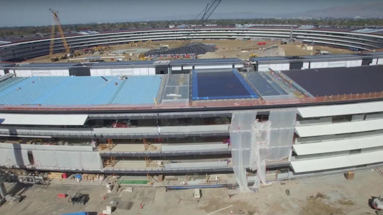 Apple新本社、建物の完成形が少しずつ見えてきた