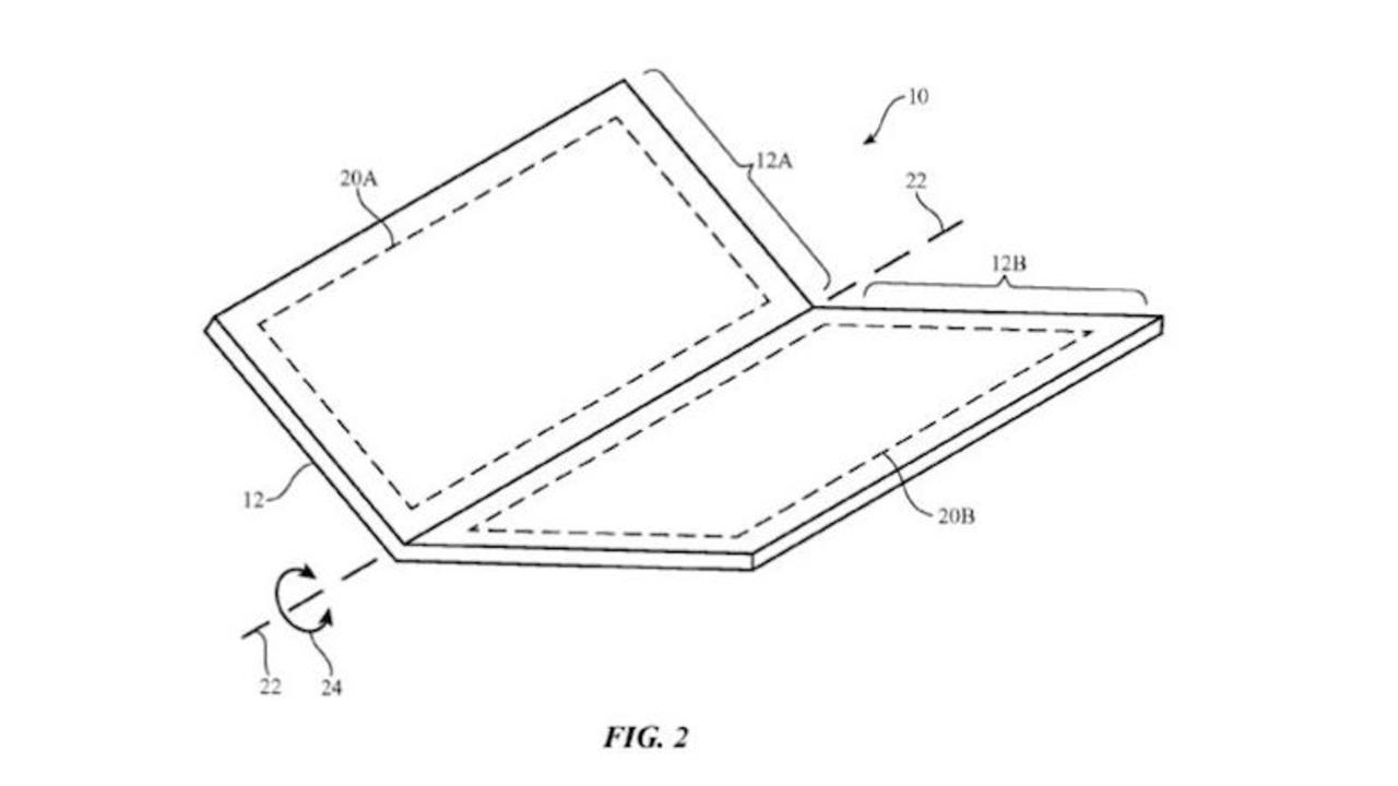 ガラケー回帰? 折りたたみ式iPhoneの特許が発見される
