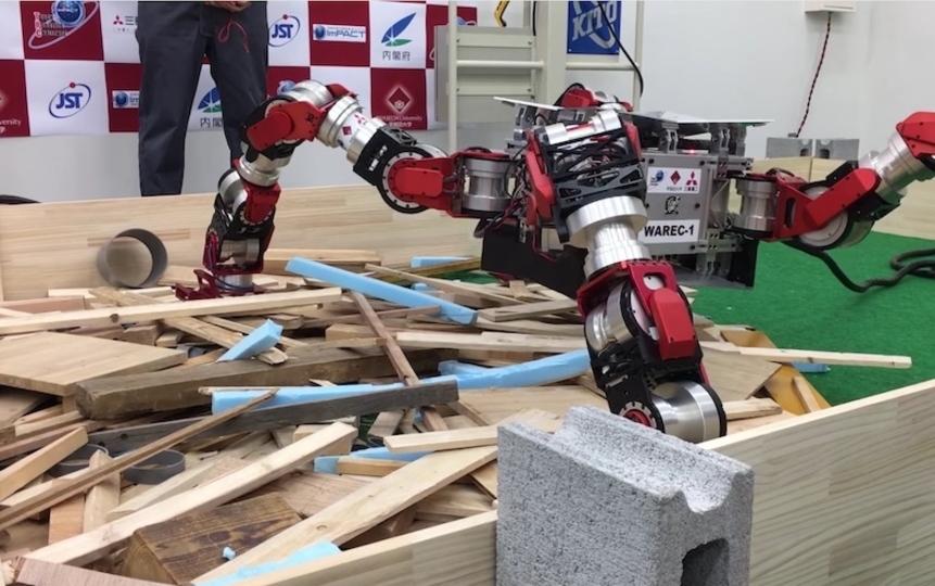 瓦礫もなんのその、4本足でモコモコ歩く脚型ロボットが災害現場で活躍する未来