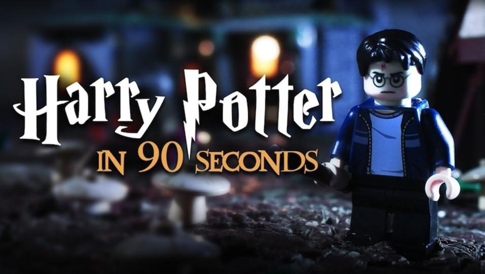 映画『ハリー・ポッター』シリーズが90秒でわかるレゴ動画