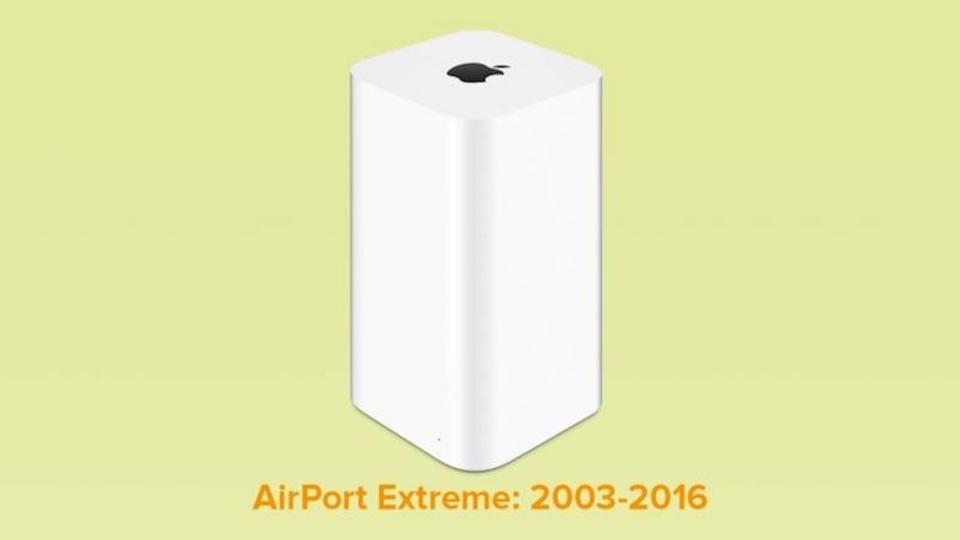AppleのWi-Fiルーター製品、いよいよ終了か