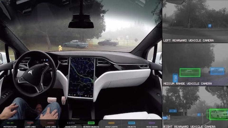 未来すぎ…。Teslaの完全自動運転の技術デモ動画が公開
