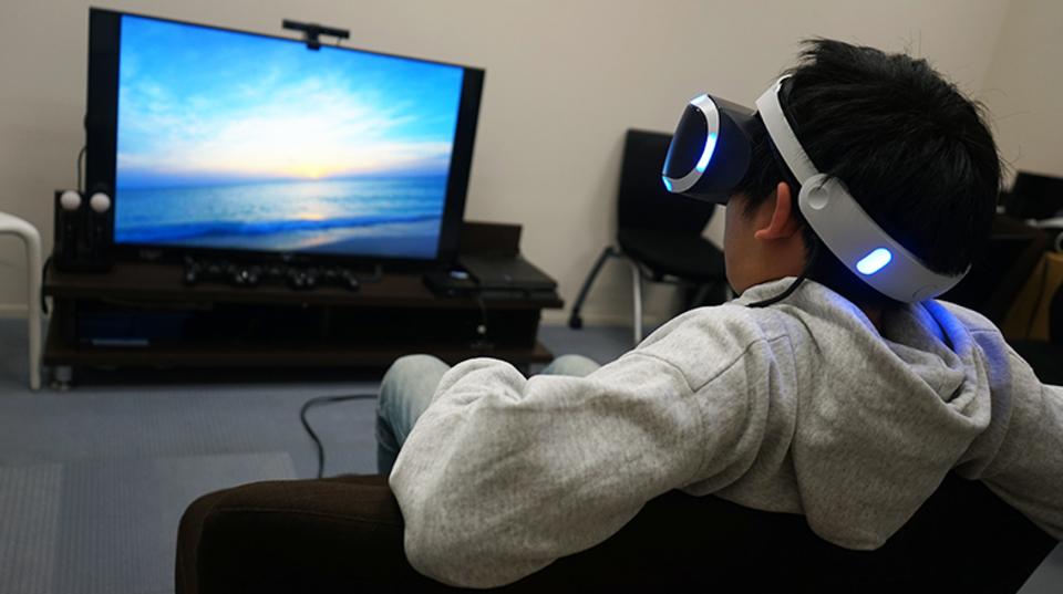 PS VR内でスマホがいじれる『anywhereVR』で仮想現実での生活が始まる