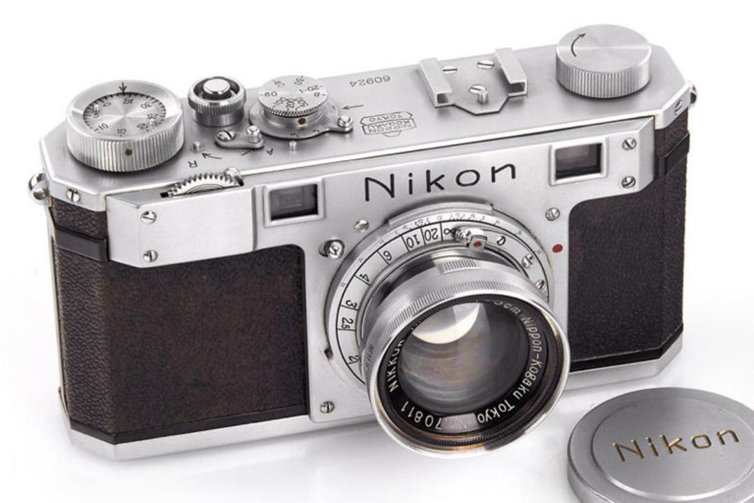 ニコン史上製造3台目のカメラ、オークションで4600万円超で落札