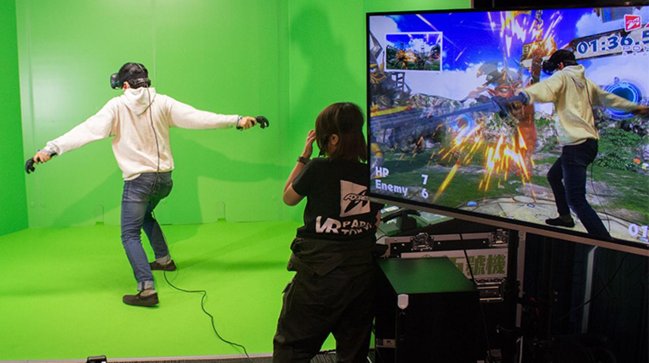 街で体験できるVR。アドアーズ渋谷店に「VR PARK TOKYO」がオープン