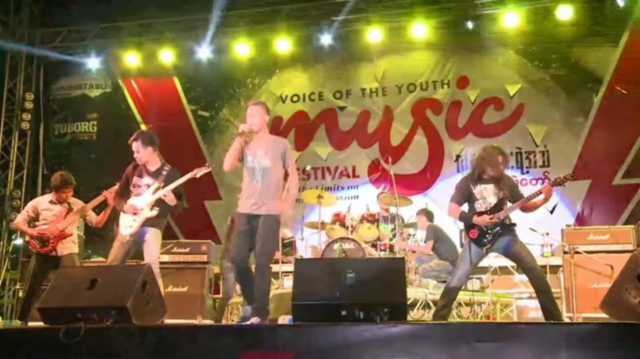 まさに自由への疾走! ミャンマーでヘヴィメタルが流行中