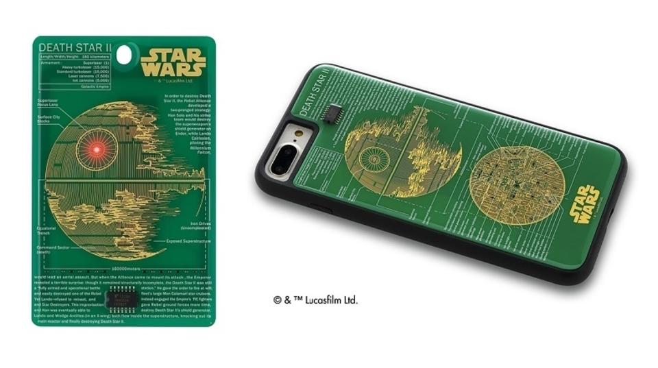 銀河帝国おことわり。デス・スターの設計図を再現した精巧過ぎるiPhone 7用ケース