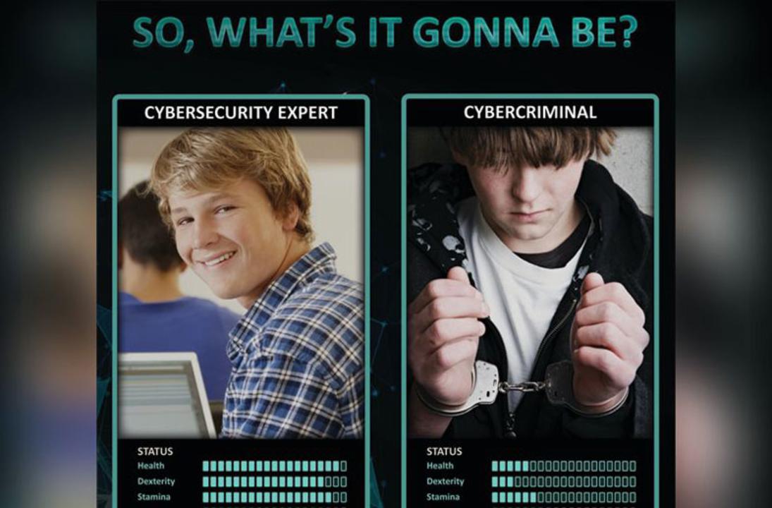 FBIとユーロポールの若者向けアンチハッキングキャンペーンのポスターが、ダサい