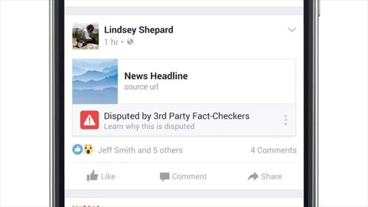 レポートボタンに事実確認機能の導入、Facebookの偽ニュース対策は成功するか