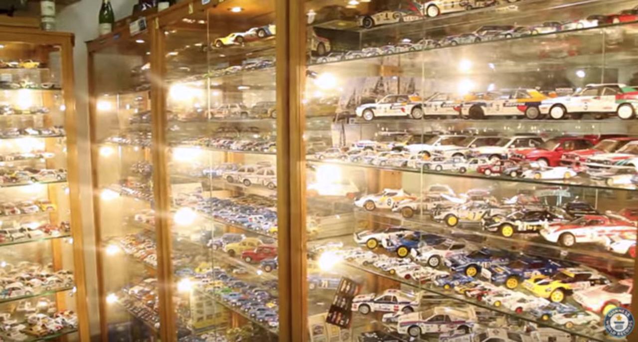 ギネス認定。世界で最も多くのミニカーを所持するのは元レーサー!
