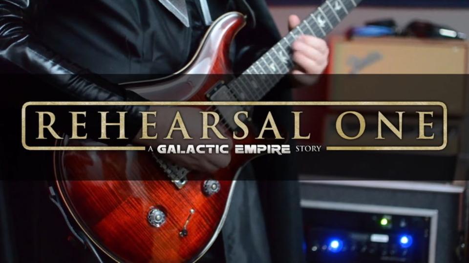 スター・ウォーズ・メタルバンド「銀河帝国」の練習風景『リハーサル・ワン』