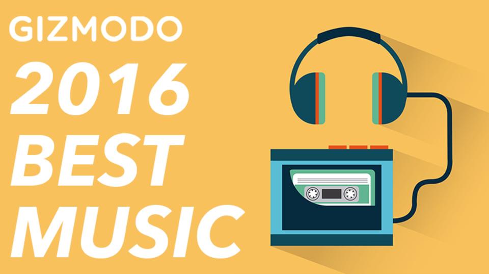 ギズモード・ジャパンの中の人+αが選ぶ「2016年ベスト音楽」