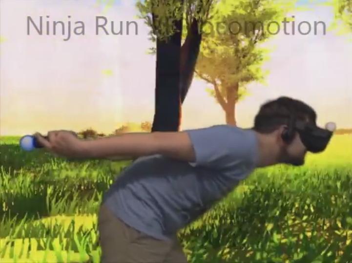 仮想現実では新技術『ニンジャ走り』がVR酔いを防ぐ?