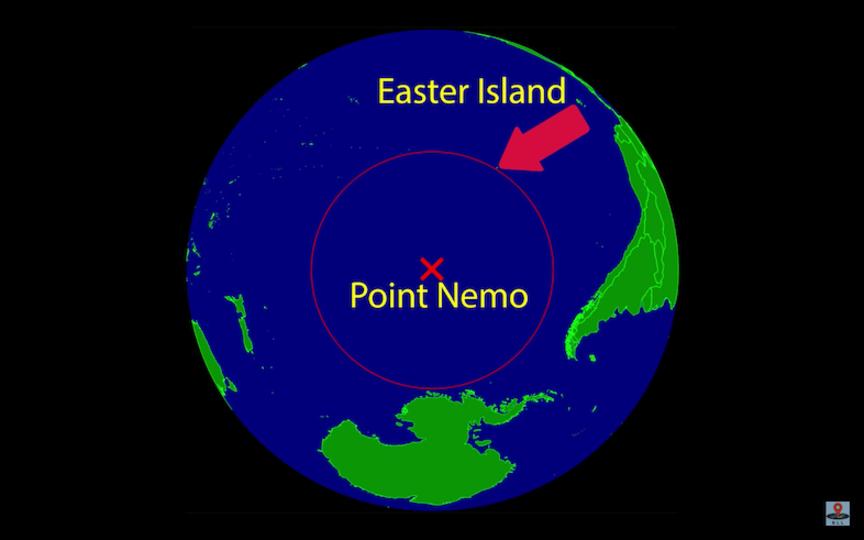 もう誰にも会いたくない? 地球上で最も人間から離れている場所は「ポイント・ニモ」ですよ