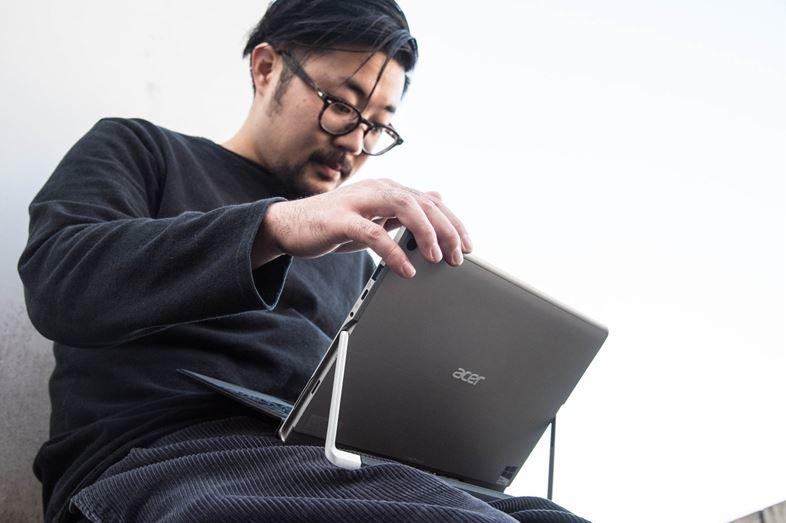 ハイスペックCPU&液冷システムを搭載。Acerの2in1タブレットは例えるならスポーツバイク3
