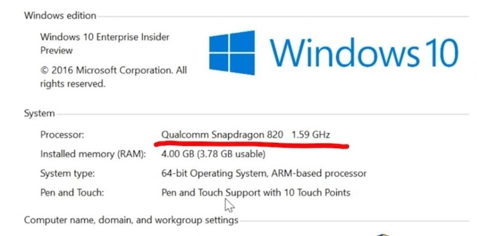 Microsoft、ARM上で動作するフルWindows 10発表。製品は2017年に登場予定