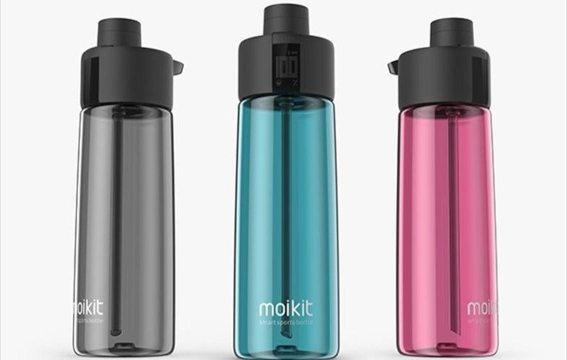 水分補給をハックする!? アプリ連携のスポーツボトル「Moikit gene」が登場