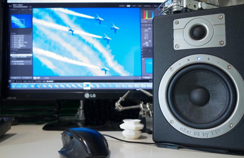 PC用スピーカーにアンプ内蔵モニタースピーカーはいかがですか