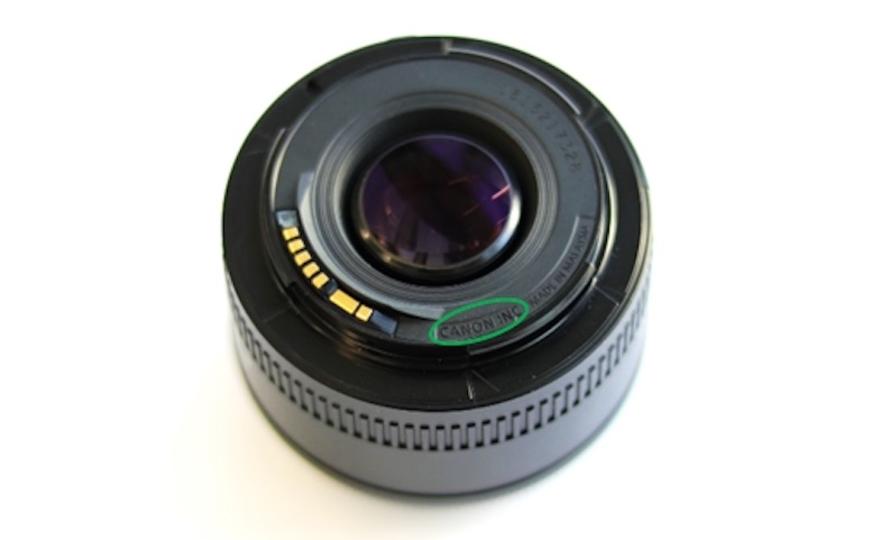確認したほうがいいかも! キヤノンの撒き餌レンズ「EF50mm F1.8 II」に模倣品が出現…