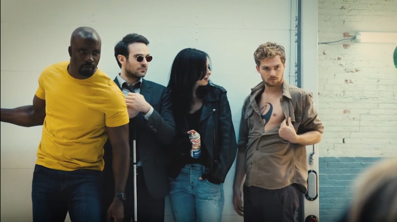 Netflix×マーベルのヒーローチーム『ディフェンダーズ』がついに集結!
