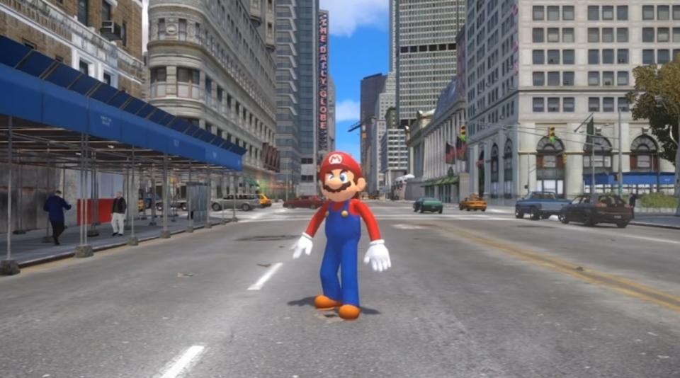 ニンテンドースイッチ対応ゲーム『スーパーマリオ オデッセイ』を『GTA』で爆笑再現