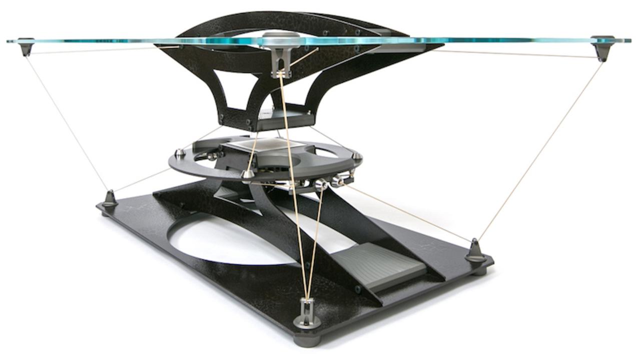 この350万円のコーヒーテーブル、浮いてない…?