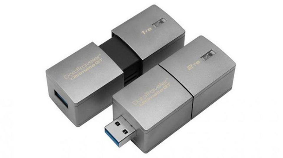 USBメモリの限界へ…2TB、亜鉛合金の堅牢仕様モデルが登場!