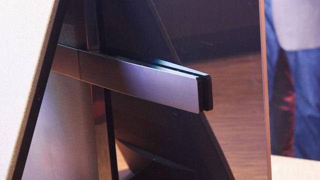 ソニー新BRAVIA「XBR-A1E」は、画面がスピーカー。画面の振動で音を発生3