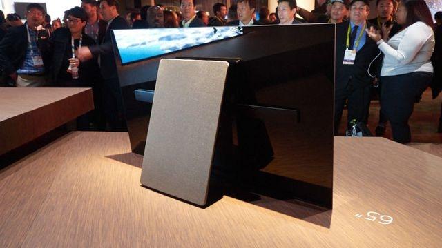 ソニー新BRAVIA「XBR-A1E」は、画面がスピーカー。画面の振動で音を発生4