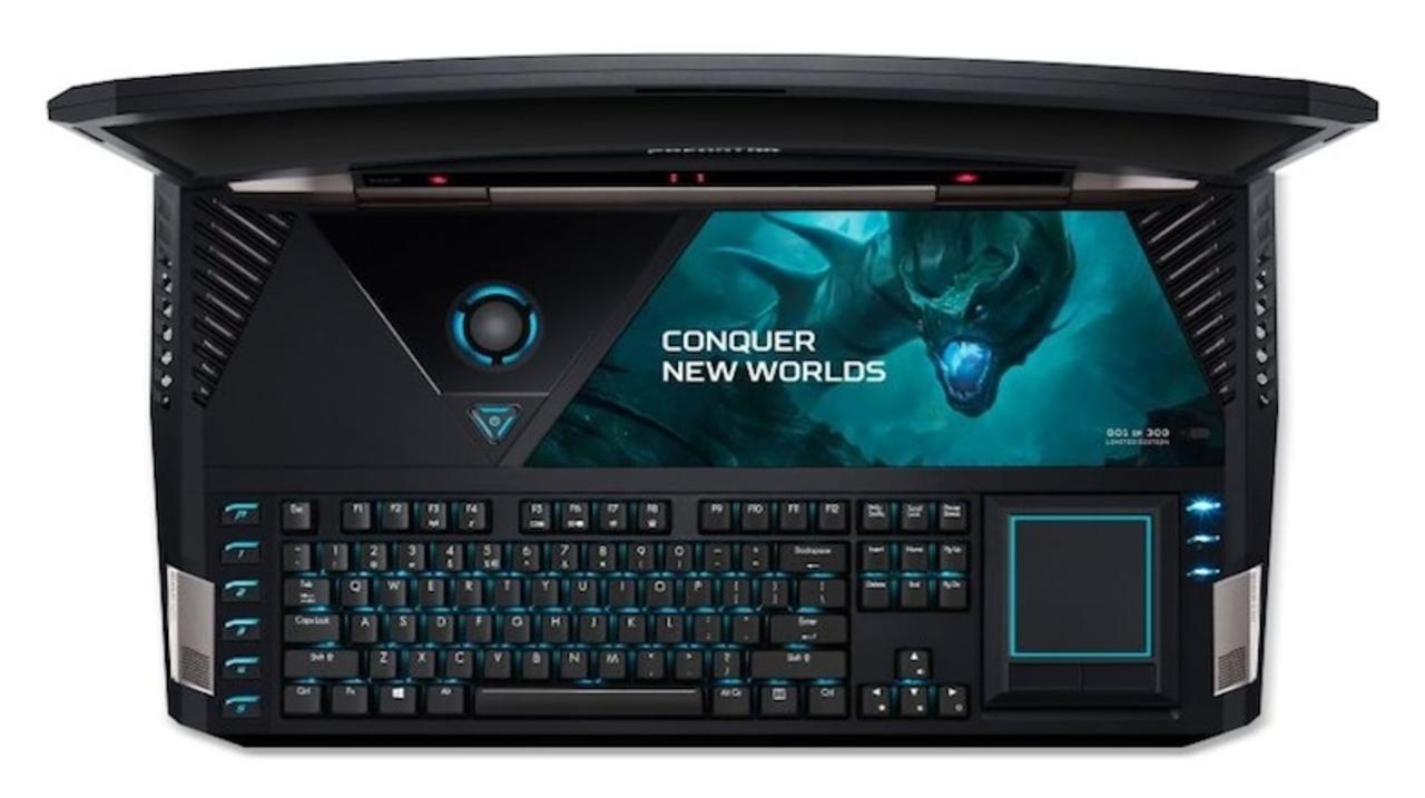 Acerから、ラップトップとは思えぬ豪華スペックのゲーミングPC「Predator 21 X」が発売