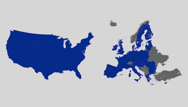 米国は州に分かれていても国なのに、EUが国じゃないのはなぜ?