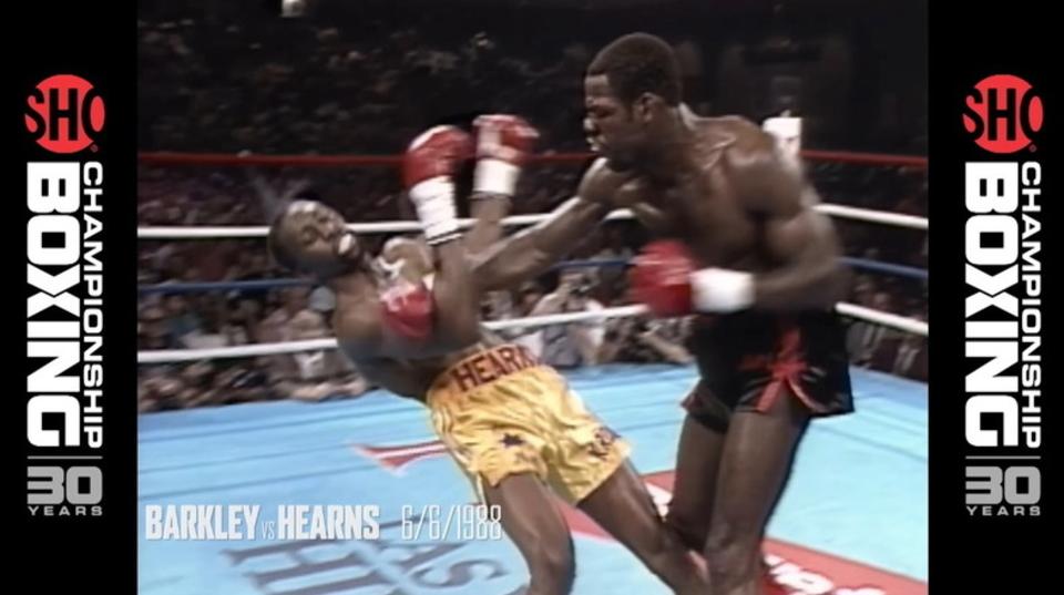 ボクシング史上最高のK.O.シーン集。『チャンピオンシップ・ボクシング』過去30年の歴史より