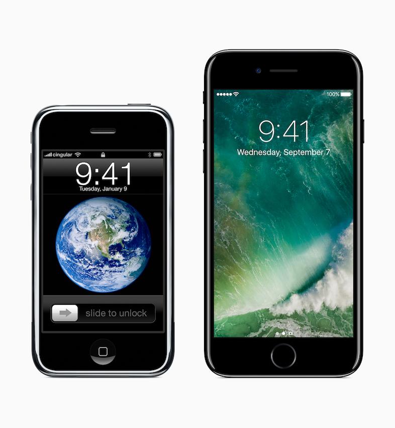 iPhone 初代から7