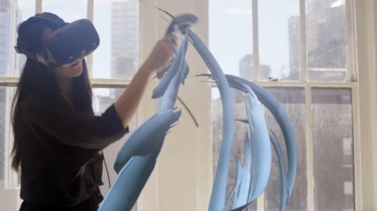 Googleが60名以上の芸術家に『Tilt Brush』で作品を作ってもらうプログラムを発表